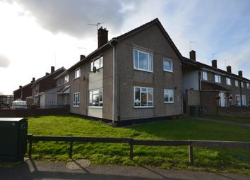 Thumbnail 2 bed flat for sale in Taunton Avenue, Corby, Northamptonshire