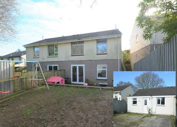 Thumbnail 3 bed semi-detached house for sale in Longfield, Falmouth