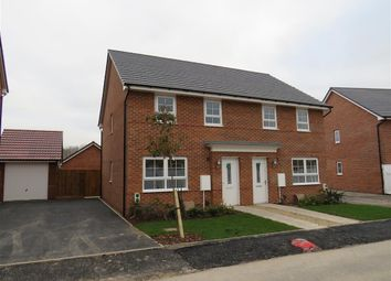Thumbnail 3 bed semi-detached house to rent in Lapwing Place, Coventry