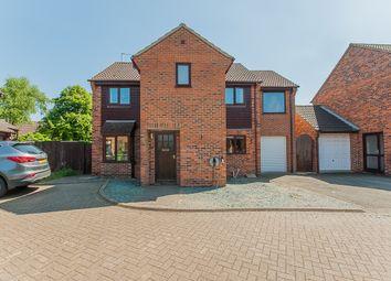 Thumbnail 4 bed detached house for sale in Woburn Court, Stilton, Peterborough
