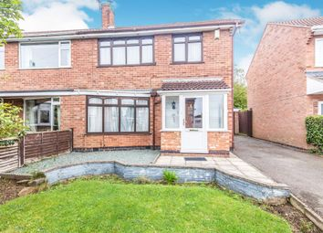 Thumbnail Semi-detached house for sale in Shipston Hill, Oadby, Leicester
