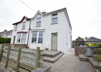 Thumbnail 3 bedroom semi-detached house for sale in Lynstone Road, Bude