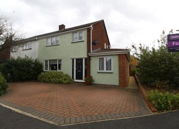 Thumbnail 4 bedroom semi-detached house for sale in Lovatt Drive, Bletchley