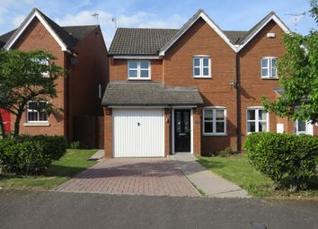 Thumbnail 3 bed semi-detached house for sale in Devonshire Close, Rugby