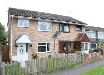 Thumbnail 3 bedroom semi-detached house for sale in Orchard Park Close, Hungerford