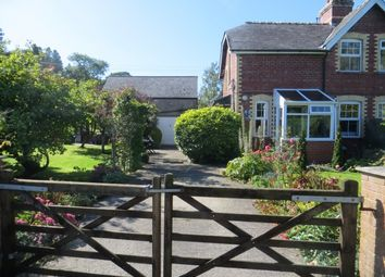 Thumbnail 2 bed cottage for sale in Llandinam, Caersws
