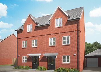 Thumbnail 3 bed semi-detached house for sale in Off Hyde End Road, Shinfield