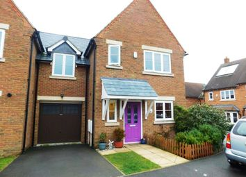Thumbnail 3 bed semi-detached house for sale in Orton Close, Mawsley, Kettering