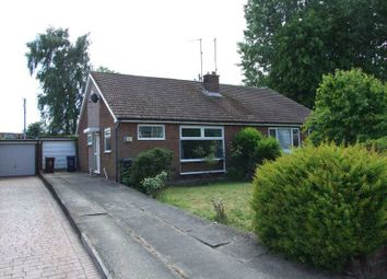 Thumbnail 2 bedroom semi-detached bungalow for sale in Cheswick Drive, Gosforth, Newcastle Upon Tyne