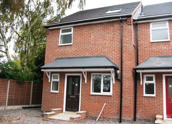Thumbnail 3 bedroom end terrace house for sale in Alma Road, Newhall, Swadlincote