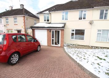 Thumbnail 3 bed semi-detached house to rent in Blaen-Y-Pant Crescent, Malpas, Newport