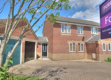 Thumbnail 3 bedroom semi-detached house for sale in Churchfields, Norwich