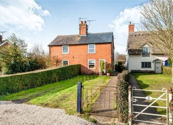 Thumbnail 3 bedroom semi-detached house for sale in The Green, Pettaugh, Stowmarket