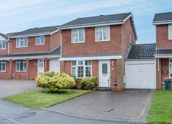 Thumbnail 3 bed link-detached house for sale in Welford Close, Oakenshaw South, Redditch