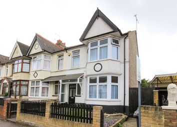 Thumbnail 3 bedroom end terrace house for sale in Hampton Road, London