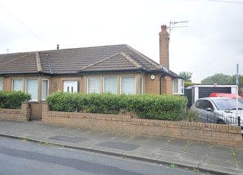 Thumbnail 2 bed semi-detached bungalow for sale in Whalley Lane, Blackpool