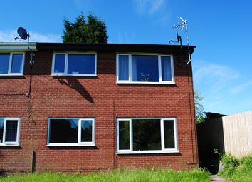 Thumbnail 1 bed flat to rent in Simons Road, Market Drayton