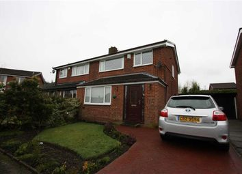 Thumbnail 3 bed semi-detached house for sale in The Crescent, Radcliffe, Manchester