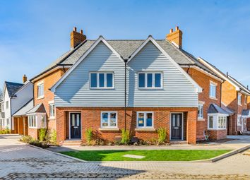 Waters Edge, Mytchett, Camberley GU16. 3 bed semi-detached house for sale