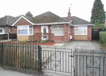 Thumbnail 3 bed detached bungalow for sale in North Street, Crewe, Cheshire
