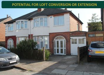 3 bed semi-detached house for sale in Hazelwood Road, Evington, Leicester LE5