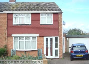 Thumbnail 3 bed semi-detached house for sale in Ashcroft Close, Northampton