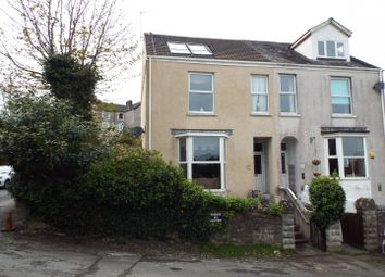 Thumbnail 4 bed semi-detached house for sale in Overland Road, Mumbles, Swansea