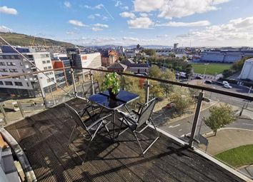 Thumbnail 2 bed flat for sale in Princess Way, Swansea
