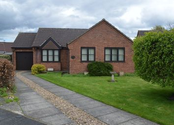 Thumbnail 3 bed detached bungalow for sale in Clement Close, Branston, Lincoln