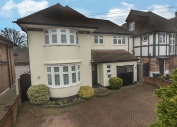 Thumbnail 4 bed detached house for sale in Hilltop Close, Loughton