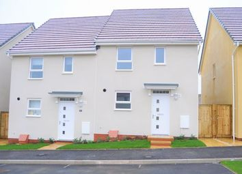 Thumbnail 3 bed semi-detached house to rent in Longwool Run, Cullompton