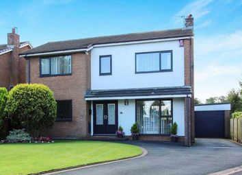Thumbnail 4 bedroom detached house for sale in Gillow Park, Little Eccleston, Preston