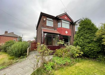 Thumbnail 3 bed semi-detached house to rent in Peveril Road, Salford