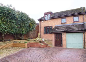 Thumbnail 4 bedroom detached house for sale in Chervil Close, Swindon