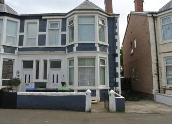 Thumbnail 3 bed flat for sale in Saville Road, Blackpool