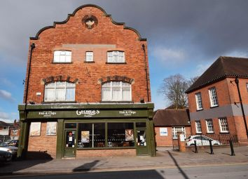 Thumbnail 1 bed flat to rent in Broad Street, Leek