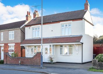 Thumbnail 3 bed detached house for sale in Rugby Road, Bulkington, Bedworth