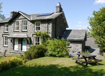 Thumbnail 3 bed semi-detached house for sale in Crookthwaite Cottage, Crookthwaite, Colthouse, Ambleside, Cumbria