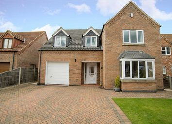 Thumbnail 4 bed detached house for sale in Astley Crescent, Scotter, Lincolnshire