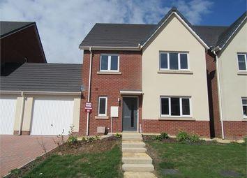 Thumbnail 4 bed detached house to rent in Saxon Way, Kingsteignton, Newton Abbot, Devon.
