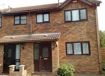 Thumbnail 2 bed semi-detached house to rent in Lime Street, Crewe, Cheshire