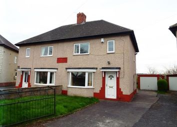 Thumbnail 3 bed semi-detached house for sale in Chevinedge Crescent, Halifax, West Yorkshire