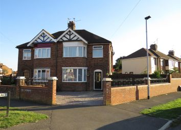 Thumbnail 3 bed semi-detached house for sale in Norton Road, Peterborough