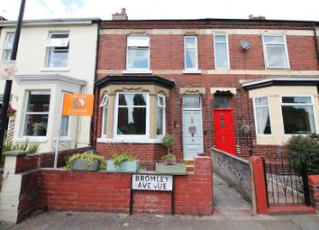 Thumbnail 3 bed terraced house for sale in Bromley Avenue, Flixton, Urmston, Manchester