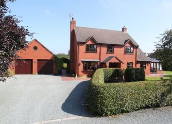 Thumbnail 4 bed detached house for sale in Cranberry, Cotes Heath, Stafford