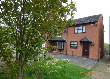 Thumbnail 2 bed semi-detached house to rent in Rawdon Road, Moira, Swadlincote
