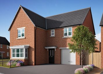 "Thumbnail 4 bedroom detached house for sale in ""The Grainger"" at Southfield Lane, Tockwith, York"