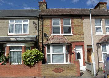 Thumbnail 2 bedroom terraced house to rent in Napier Road, Northfleet, Gravesend