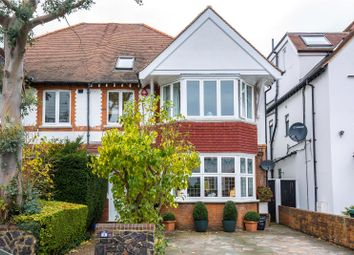 Thumbnail 5 bedroom semi-detached house for sale in Lyndhurst Gardens, Church End, London