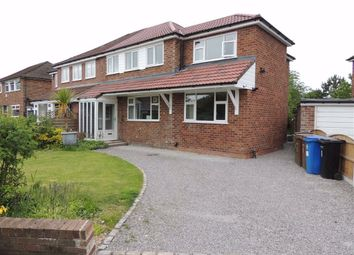 Thumbnail 4 bed semi-detached house for sale in Elton Drive, Hazel Grove, Stockport